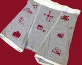 Treasure Map Boxer Briefs - Heather Gray