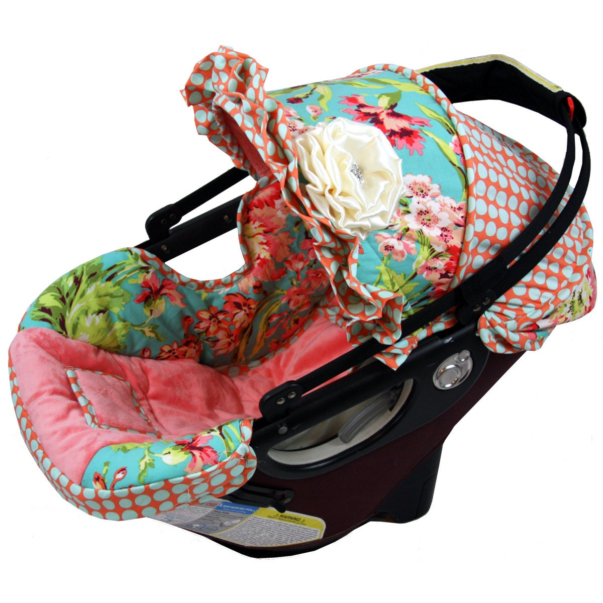 Custom Infant Car Seat Cover Amy Butler Love By