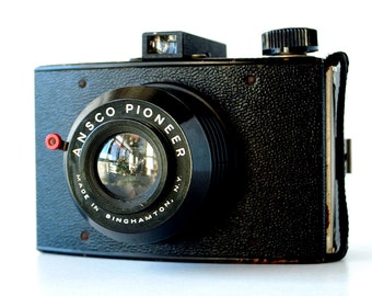 Vintage Box Camera 1940's Ansco Pioneer Camera