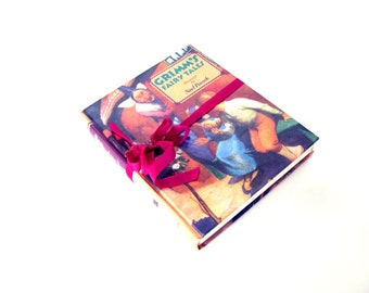 GRIMM'S Fairy Tales, Vintage Edition, Sleeping Beauty, Once Upon a Time, Snow White, Hansel and Gretel, Red Riding Hood, Homeschooling Books