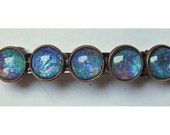 Midsummer Jewels Copper Barrette with five glass sets