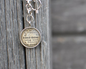 One Word dictionary charm bracelet 2017 word of the year