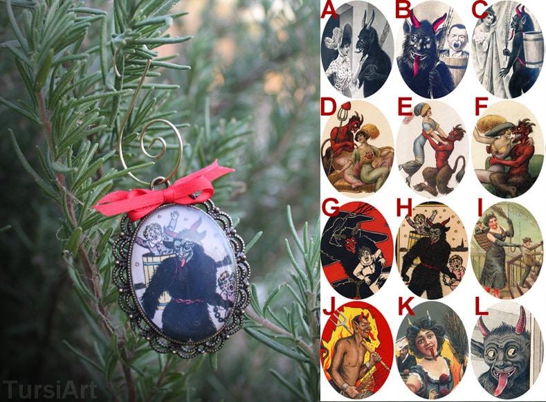 Krampus Ornament Weird Christmas Decoration Gruss Vom Krampus
