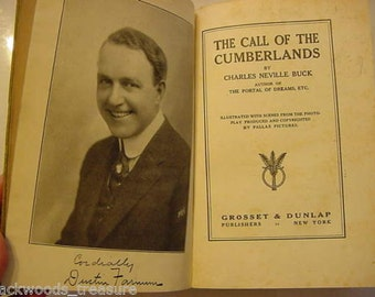 On Sale...1913 Call of the Cumberlands Photoplay Movie Stage Still Book Dustin Farnum Pallas Pictures