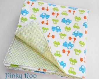 Baby blanket /XL flannel baby blanket/ Cars baby blanket/ baby boy blanket