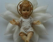 Baby Jesus Pillow - Ornament - Party Favor - Christmas - Baptism - First Comunion - FREE SHIPPING