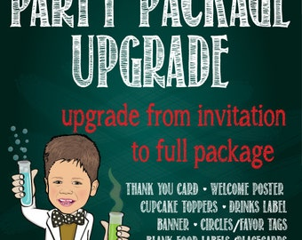 Party Package Upgrade - any invitation