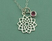 Crown Chakra Crystal Necklace - chakra pendant, yoga teacher, gifts, gemstone