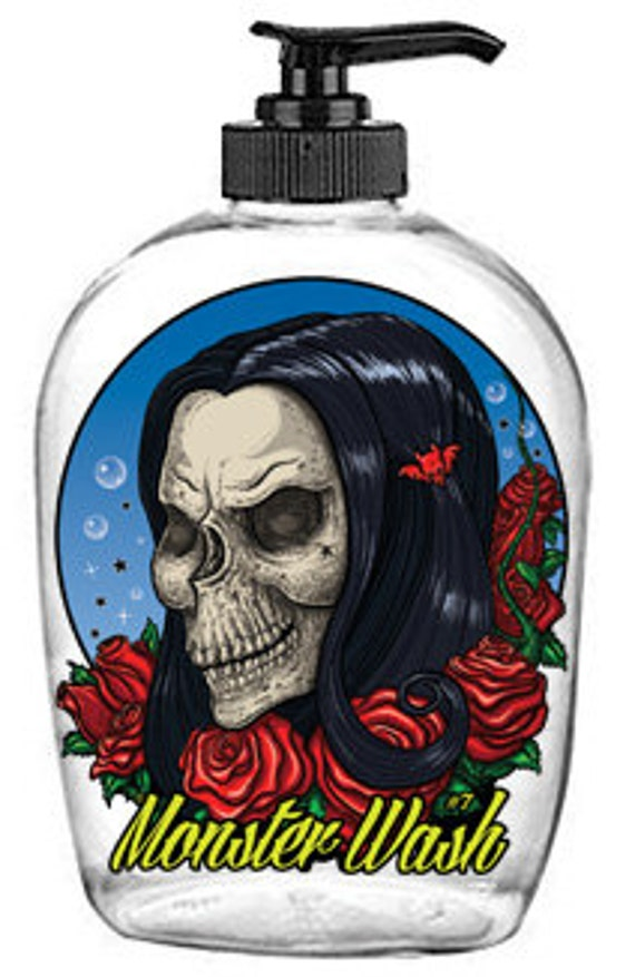 Bella Rose. Limited Edition! Horror Themed, Collectible Soap Dispenser
