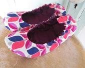 Shoe Pattern - Elastic Flats Women size 5 to 11  - PDF download