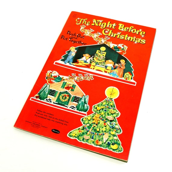 1950 Christmas Toys For Boys : Vintage s childrens toy book rare by attyssproutvintage