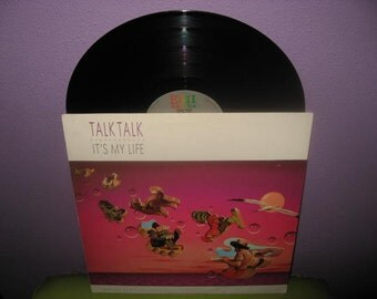 SHOP CLOSING SALE Vinyl Record Album Talk Talk - It's My Life Lp 1984 New Wave Darkwave Classic