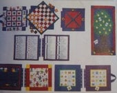 Vintage - Vogue 1177 - Games To Go Book - Fabric Game Book - Uncut Pattern