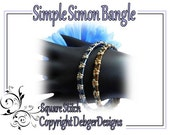 Simple Simon Bangle - Tila Beading Pattern Tutorial