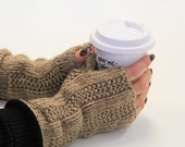 KNITTING PATTERN-Abby, Fingerless Mitt Pattern