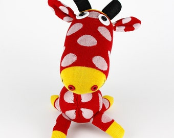 kids toys Handmade Sock Giraffe Stuffed Animal Doll Baby Toys