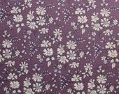 Liberty tana lawn printed in Japan - Capel - Dark purple mix