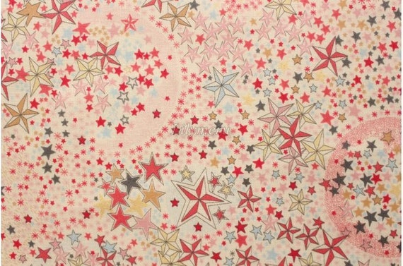 Tana lawn Liberty imprimé au Japon - Adelajda - rose mix