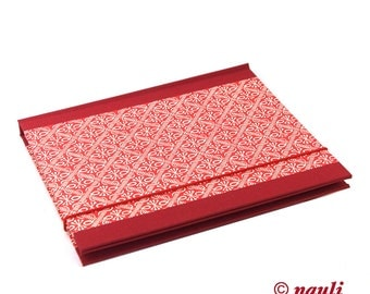 A5 Accordion Folder, red Accordion File