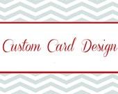 Custom Card Design for Suzz