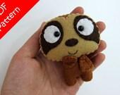 Sloth Plush PDF Pattern -Instant Digital Download