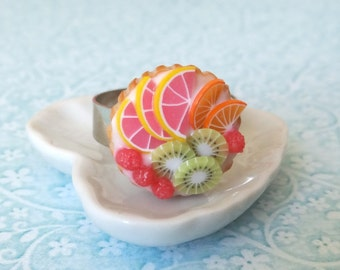 Fruit tart ring