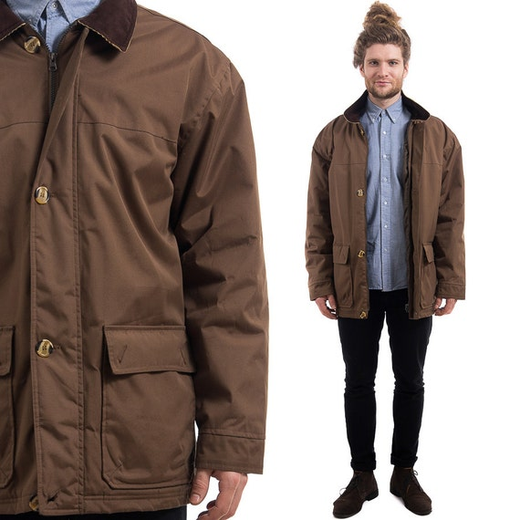 Brown Car Coat | Down Coat