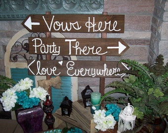 Wedding Signs rustic HUGE wooden beach decorations country farm signage reception Outdoor reclaimed decor shabby vintage