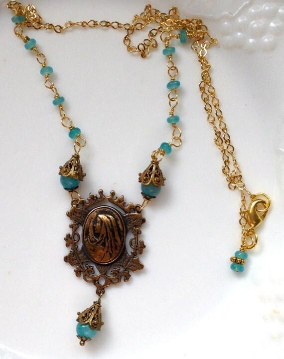 of grace necklace catholic jewelry
