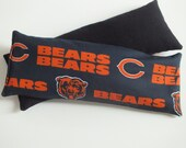 Microwave Rice Pack, Eye Mask, Choose Scent, Chicago Bears, Wrist Rest, Microwave Rice Pack, Heating Pad, Soothing, Migraine Relief