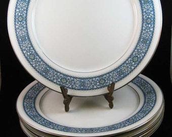 """Noritake Dinner Plates #6913 Larue (5)10-1/2"""""""