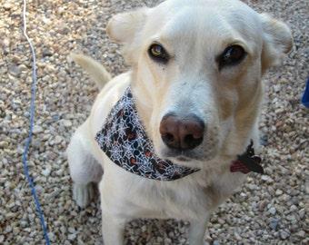 Dog Bandana Season Ticket Seasonal Themed Handcrafted in North Carolina