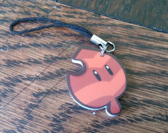 Super Mario Tanuki Leaf Phone Charm - DISCOUNTED