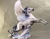 Reserved for Thorgerd Pegasus flying Ceramic