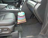 Car Trash Litter Bag Chevron