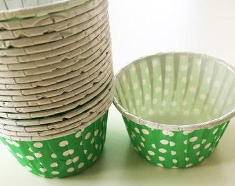 Tiny Polka Dot Cups
