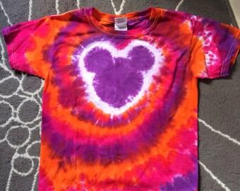 Ready To Ship Kids Small Tie Dye Tshirt