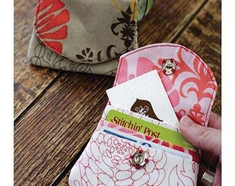 Sewing Card - Little Wallet Pattern
