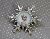 Elsa Snowflake Brooch