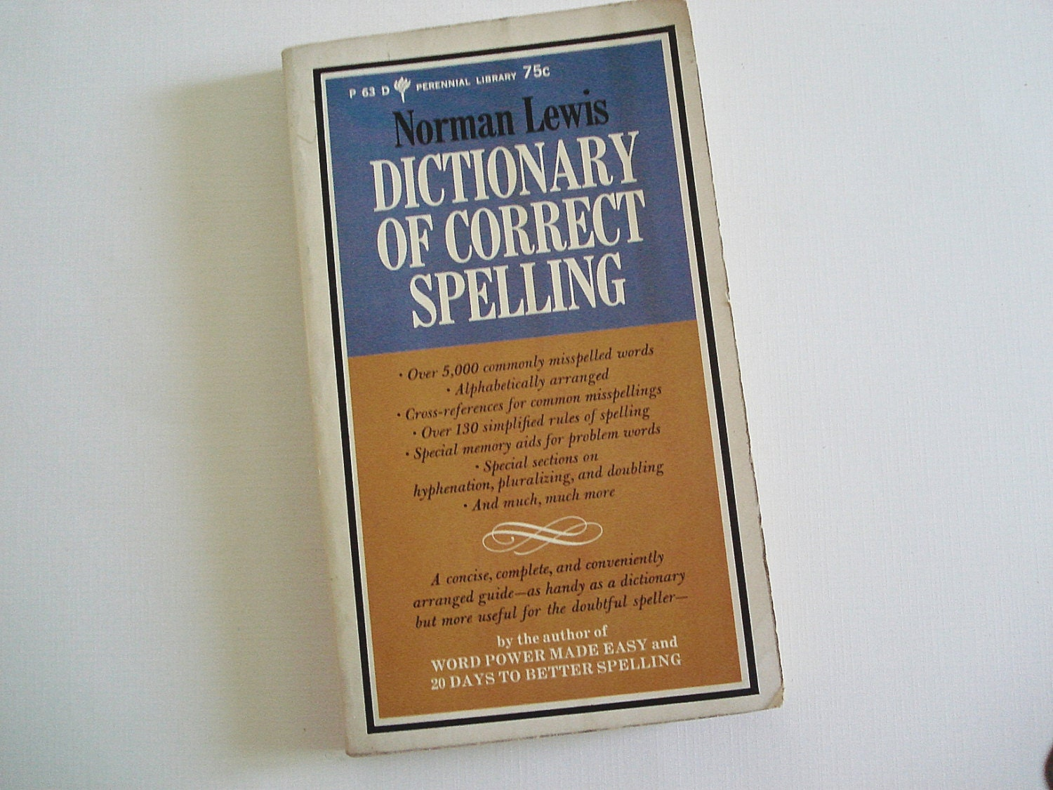 dictionary of correct spelling by norman lewis pdf