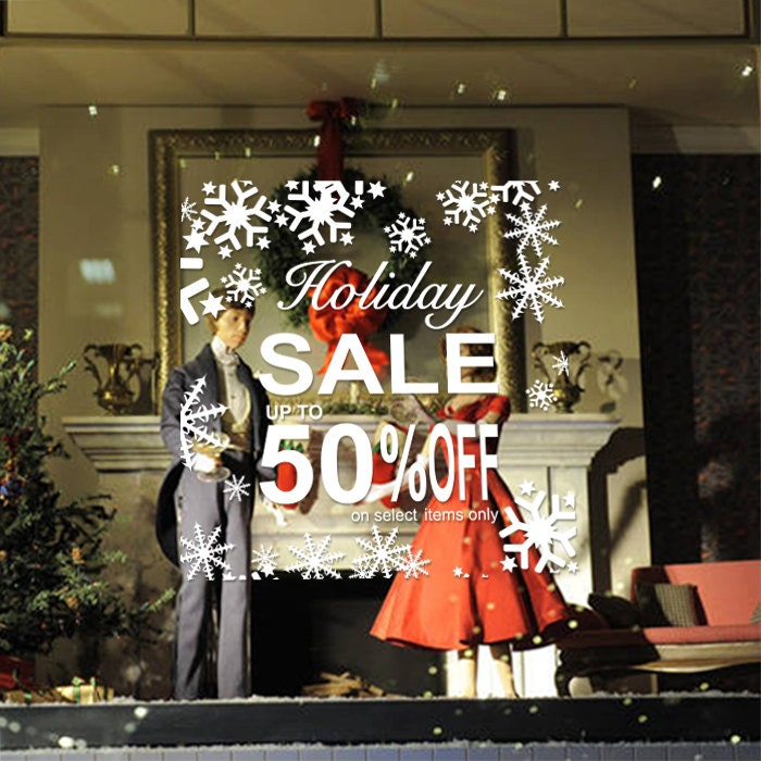 22 W By 22 H Holiday Sale Up To 50 Off Sign With