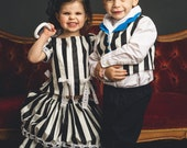Victorian 1860s Style Three Piece Girls Costume  Made out of Antique Trim and Quality Fabrics