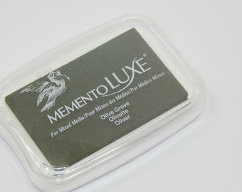 Large Luxe Ink Pad Olive Grove
