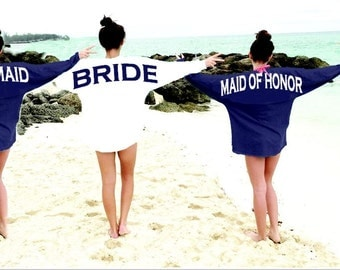 Bridal jersey SALE bridesmaids gift, special listing