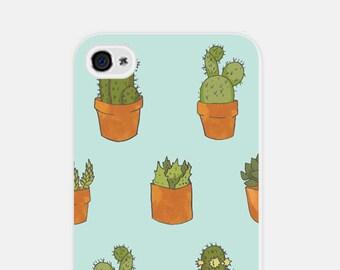iPhone 5c Case - Succulent iPhone 6 Case - Cactus iPhone 6 Case - Blue Cactus iPhone 5 Case - Cactus iPhone Case - Cco