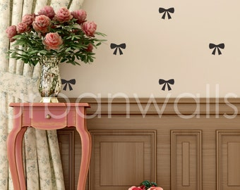 Vinyl Wall Sticker Decal Art - Bows