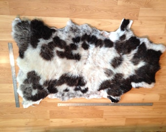 Beautiful Soft Larger Jacob Sheep hide