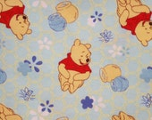 Disney Winnie the Pooh and the Honeybee Flannel Pillowcase