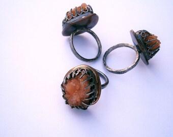 Pecos Diamond Specimen Ring