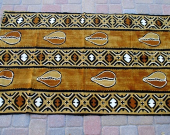 "African Mud Cloth 42""x68"""
